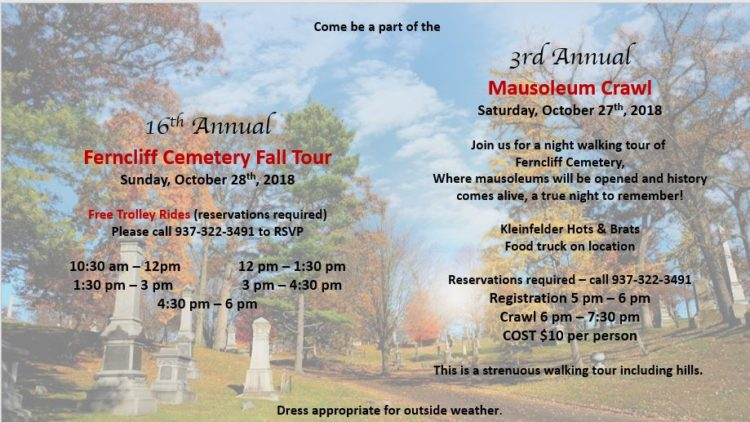 Fall Trolley Tour and Mausoleum Crawl – Registration Open