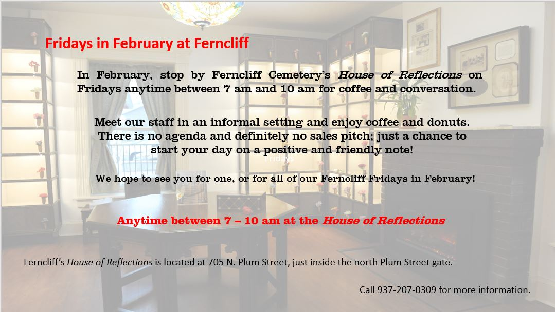 Fridays in February at Ferncliff